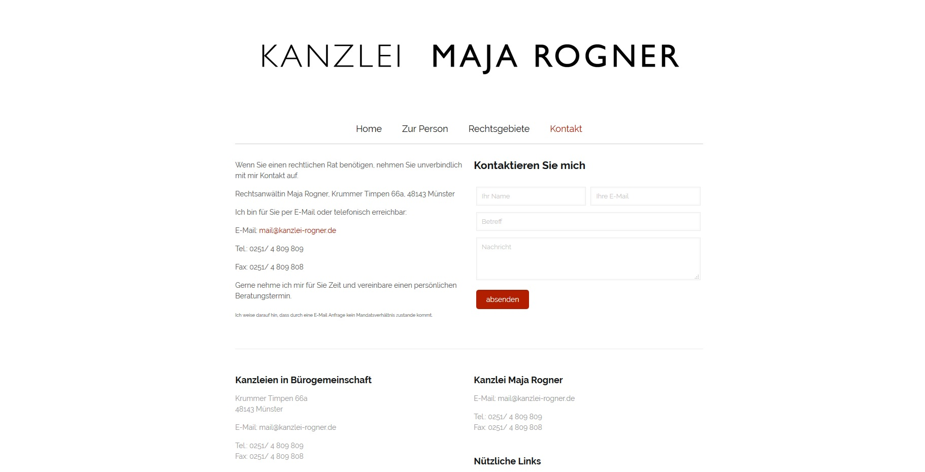 Kanzlei Rogner
